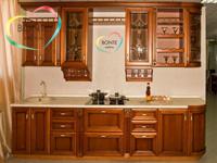 Прямая кухня Ульяновск: Ретро орех