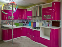Угловые кухни Ульяновск: Волна