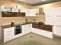 Угловые кухни Ульяновск: Зебрано белый